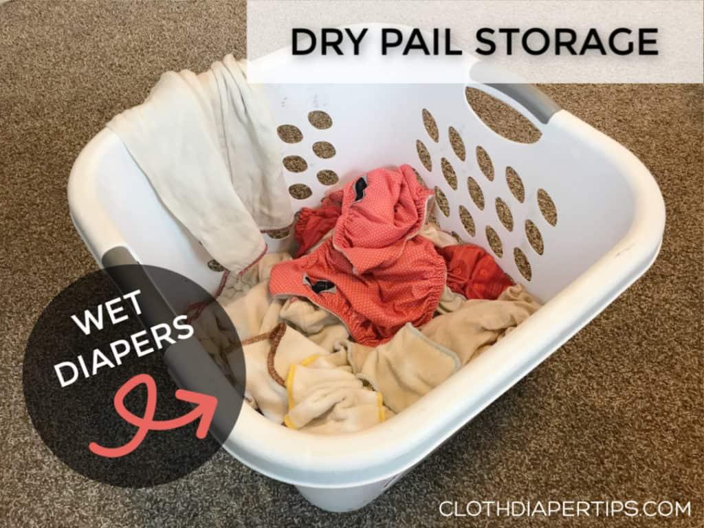 cloth diaper pail alternative