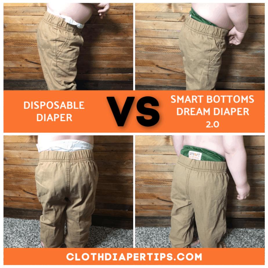 trim cloth diaper smart bottoms dream diaper 2.0