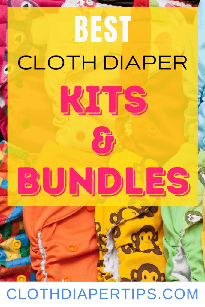 cloth diaper kits and bundles